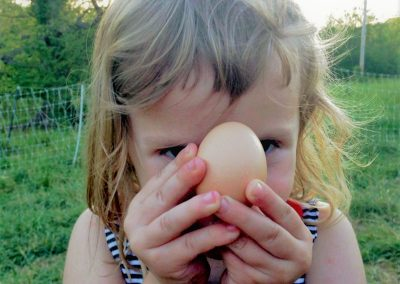 Eva and the egg